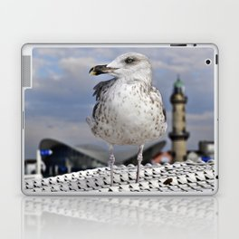 Baltic SEAGULL on the beach chair Laptop & iPad Skin