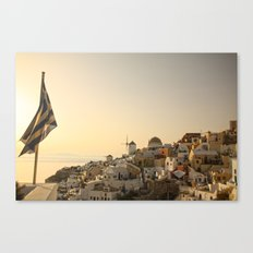 The Greek Feeling Canvas Print