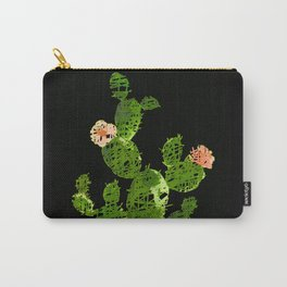 weird cactus black version Carry-All Pouch