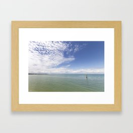 Where the Sea Touches the Sky Framed Art Print