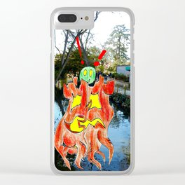 Trunks in The Park Clear iPhone Case