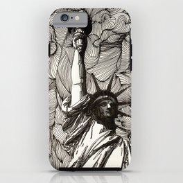 Lady Liberty Got nothing on me. iPhone Case