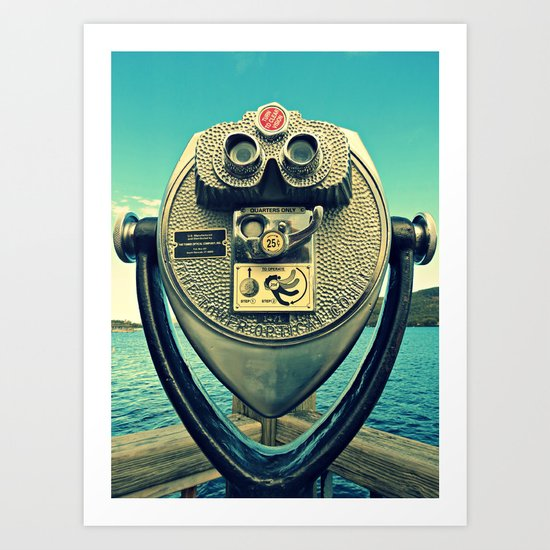Look and See Art Print
