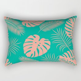 TROPICAL LEAVES 8 Rectangular Pillow