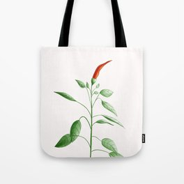 Little Hot Chili Pepper Plant Tote Bag