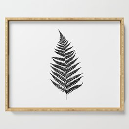 Fern silhouette Serving Tray