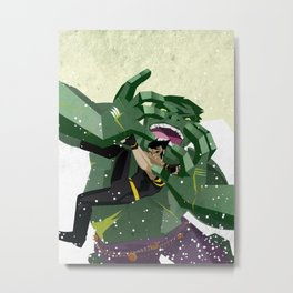 Ultimate Hulkout Featuring The Canadian Metal Print