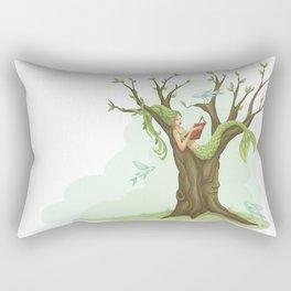 Mermaid Tree Rectangular Pillow