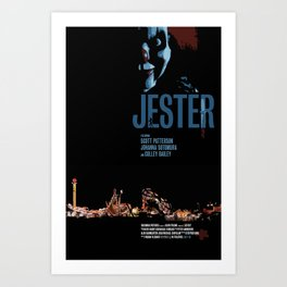 Jester Movie Poster Art Print