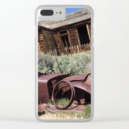 Rusty memories Clear iPhone Case