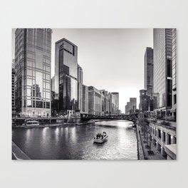 Silver River Canvas Print