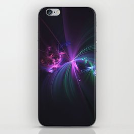 Fireworks Fractal iPhone Skin