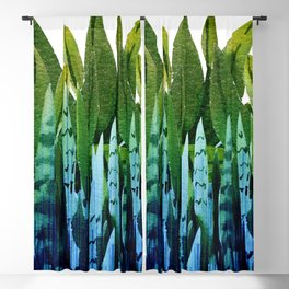 house plant Blackout Curtain