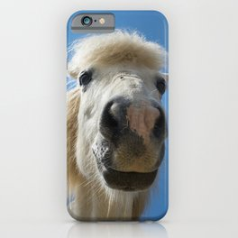 Funny Horse iPhone Case