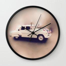 1952 Deluxe Chevy Belaire Hotrod Wall Clock