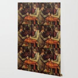 The Card Players Paul Cézanne Wallpaper