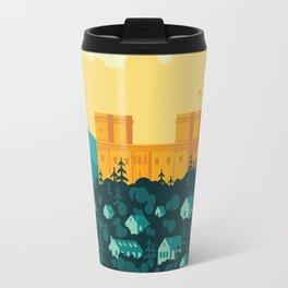 Golden castle Travel Mug