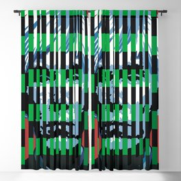 Barcode 007C Blackout Curtain