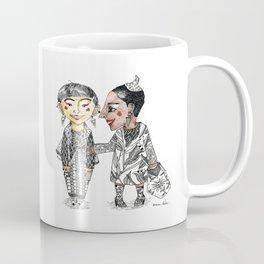 Modern tribal girls Coffee Mug