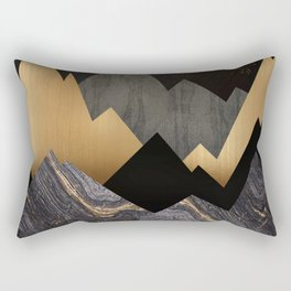 Metallic Night Rectangular Pillow