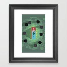 Mermaid Funeral Framed Art Print