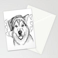 Husky Love Stationery Cards