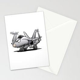 F/A-18 Hornet Naval Military Fighter Jet Aircraft Stationery Cards