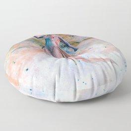 Space Siren Floor Pillow