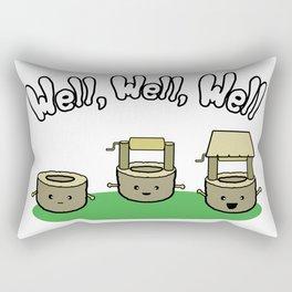 Well, Well, Well Rectangular Pillow