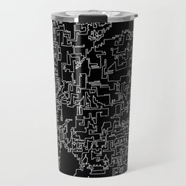 Scotland in one continuous line Travel Mug