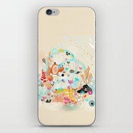 under the water wonderland iPhone Skin