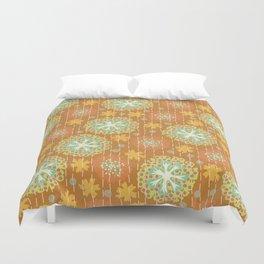 Kantha floral 2 Duvet Cover