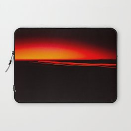 Night Lights Four Red Tail Lights Laptop Sleeve