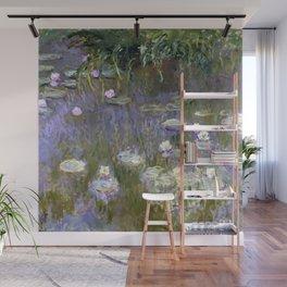 "Claude Monet ""Water lilies""(2) Wall Mural"