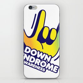 Down Syndrome Awareness iPhone Skin