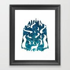 Antelope Aeon Framed Art Print
