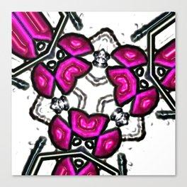 Pink Subatomic Canvas Print