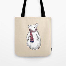 Autumn Mouse Tote Bag
