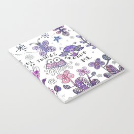 I See Beautiful Things Around Me Notebook