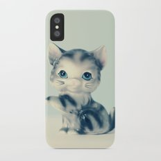 Little Grey iPhone X Slim Case