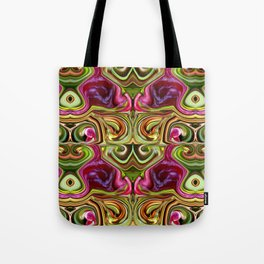 Happyness under the plum trees ... Tote Bag