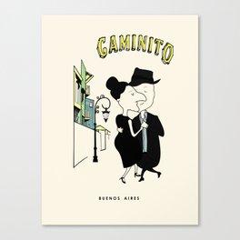 Caminito (Two to Tango) Canvas Print