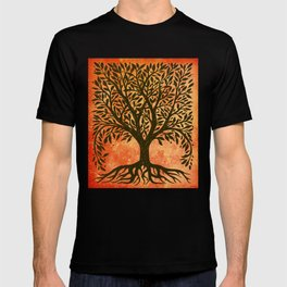 Tree Of Life Warm Tones T-shirt