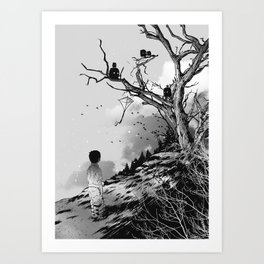Welcome, Stranger! Art Print