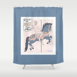 The Brass Ring 2 Shower Curtain