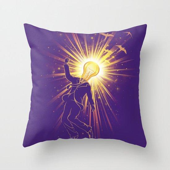 Eureka Throw Pillow