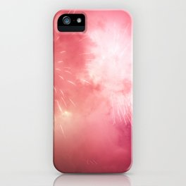 Universe of Fireworks. iPhone Case