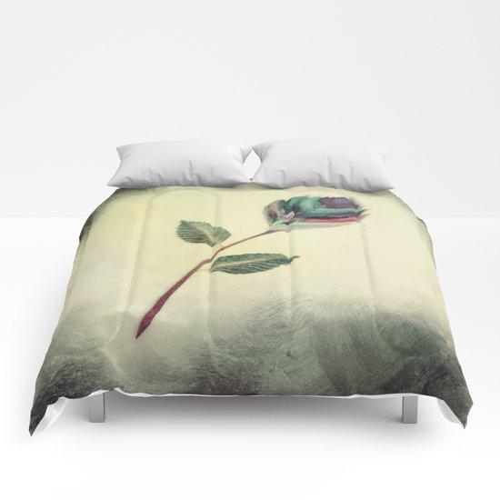 Strange Flower 2 Comforters