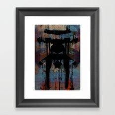 disquiet twenty one (petrococadollar) Framed Art Print