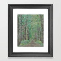 Foreveringreen Framed Art Print